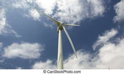 wind power - using to generate electric power