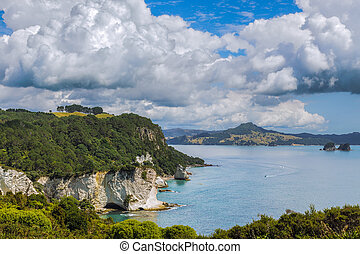 View towards Cathedral Cove