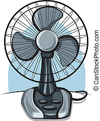 table fan ventilator
