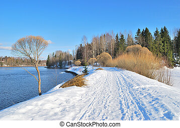 Nature of Finland in spring - Beautiful nature of Finland in...