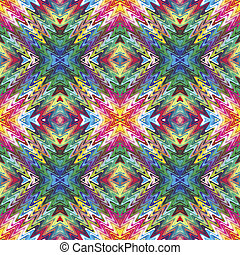 Modern Native American pattern - Seamless Native American...