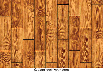 Wooden flooring - vector background