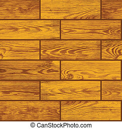 Seamless vector texture - wooden floor - Seamless vector...
