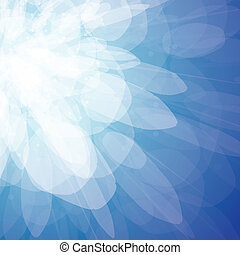 Vector abstract background - blue sparks - The vector...