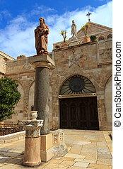 iglesia, natividad, Belén, palestina