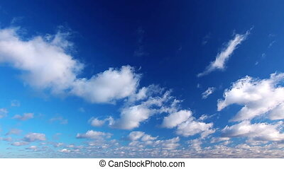 sky and cloud - timelapse - cloud, motion, nature, scenic,...