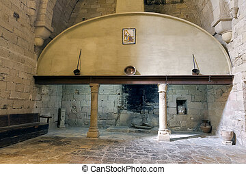 Monastery of Santa Maria de Poblet kitchen