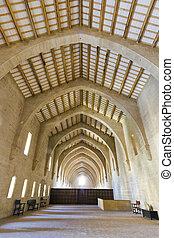 Monastery of Santa Maria de Poblet dormitories
