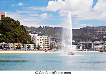 Waterfront Wellington New Zealand
