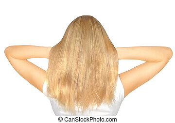 Blond hair natural color
