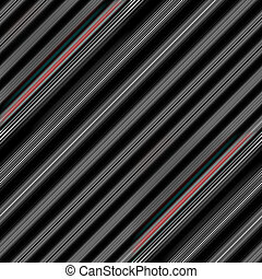 Striped seamless texture. - Mainly black and grey linear...