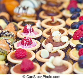 Pastry - Photo of various pastry in the pastry shop