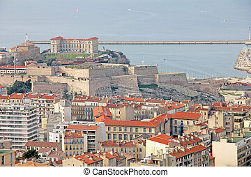 Fort in Marseilles, France