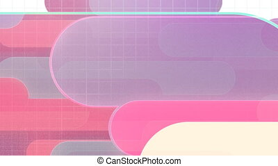 Retro Template Style Looping Animated Background