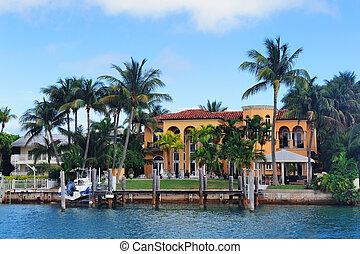 Miami Luxury house - Luxury house on Hibiscus Island in...