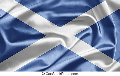 Scotland - Excellent bright image of flags for you. With the...