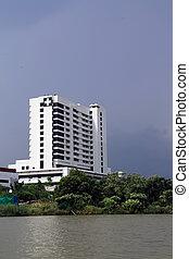 Hospital building