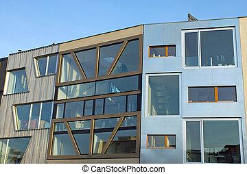 Modern townhouses in Berlin