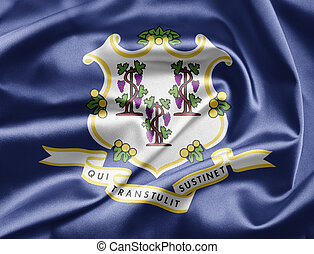 Flag of Connecticut - Excellent vivid images of flags for...