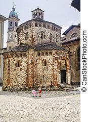 Biella - Baptistery - Biella Piedmont, Italy - Baptistery in...