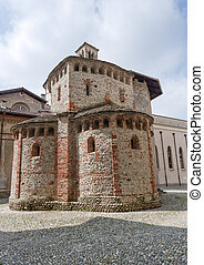 Biella (Italy) - Baptistery - Biella (Piedmont, Italy) -...
