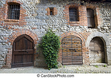 Ricetto of Candelo (Biella, Piedmont, Italy) - Typical house...