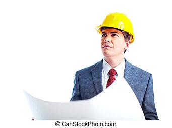 ingeniero, hombre de negocios
