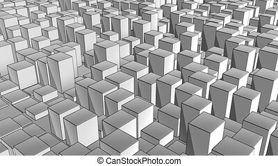 cube track ink - abstract background