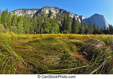 Grandiose landscape in a valley world-wide well-known...