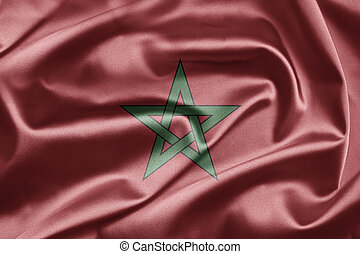 Flag of Morocco - Excellent vivid images of flags for you...