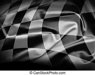 Checkered flag - Excellent vivid images of flags for you....