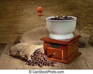 café, molino
