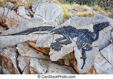 Dinosauro Antonio, Tethyshadros insularis - Photo of...