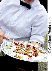 camarero, porción, Aperitivos