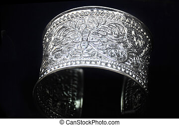 Jewelry made of silver. Nan Province of Thailand The best...