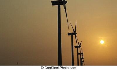 wind power - wind generator electric power