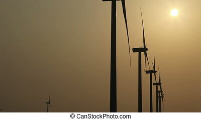 wind power - wind generator electric power
