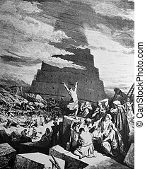 The Tower of Babel - 1 Le Sainte Bible: Traduction nouvelle...