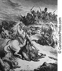 The death of King Saul