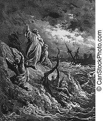 Shipwreck at Malta - 1) Le Sainte Bible: Traduction nouvelle...