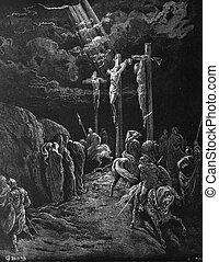 The death of Jesus - 1) Le Sainte Bible: Traduction nouvelle...