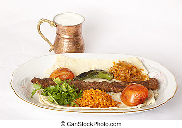 Turkish traditional kebab specials