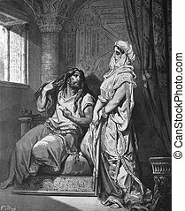 Samson and Delilah - 1 Le Sainte Bible: Traduction nouvelle...