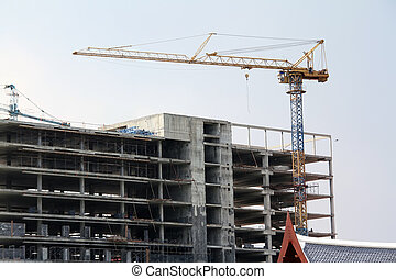 Buildings are built
