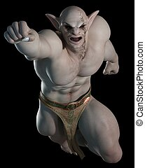 Goblin or troll fighting champion 2 - Goblin or troll...