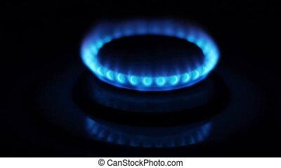 Gas Burner On Stove Turns On