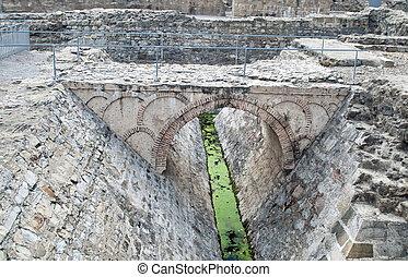 Bridge of an ancient civilization