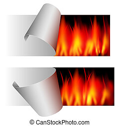 fire sticker - big sale - vector