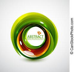 Abstract hi-tech circle
