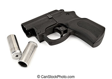 Traumatic pistol with ammunition - Traumatic pistol with two...